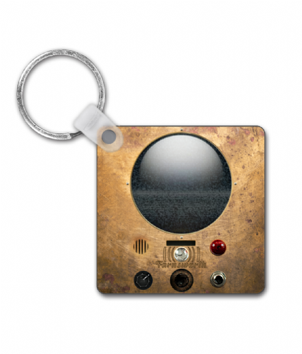 Warehouse 13 Inspired Farnsworth Communicator Design Keyring